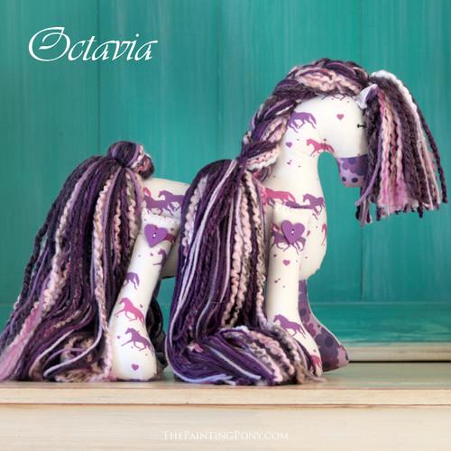 """Signature Flopsy Cotton Pony """"Octavia"""""""