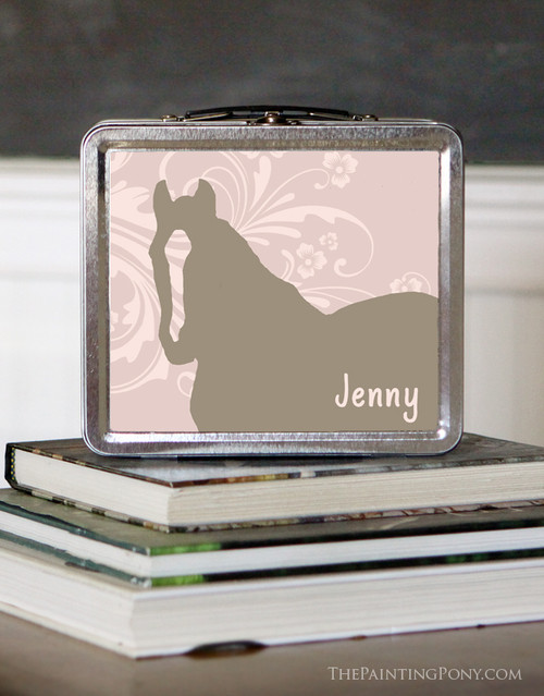 Personalized Country Pony Lunch Box