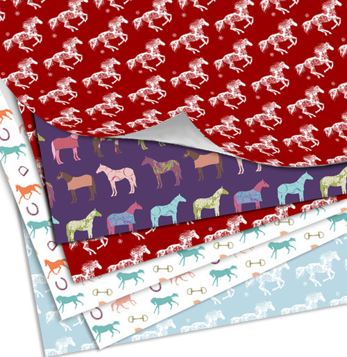 Horse Themed Gift Wrapping Paper