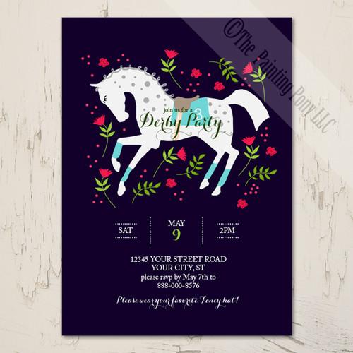 Equestrian Stationery Birthday Wedding Invitations Horse