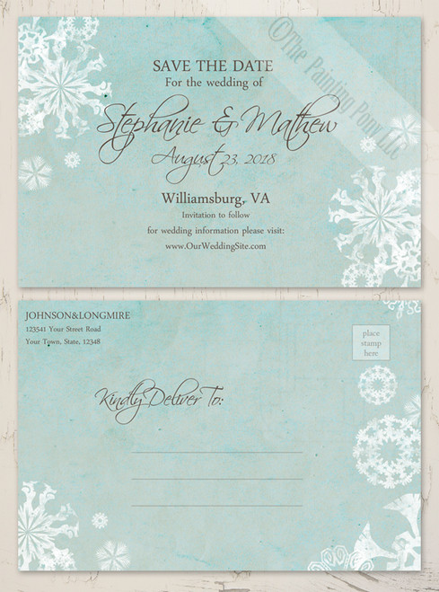 The Bride Shop Weddings All Wedding Stationery Products Save – Winter Wedding Save the Dates