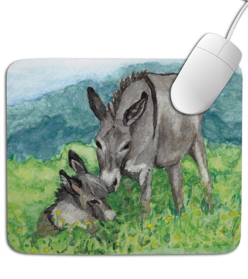 Miniature Donkey Mousepad
