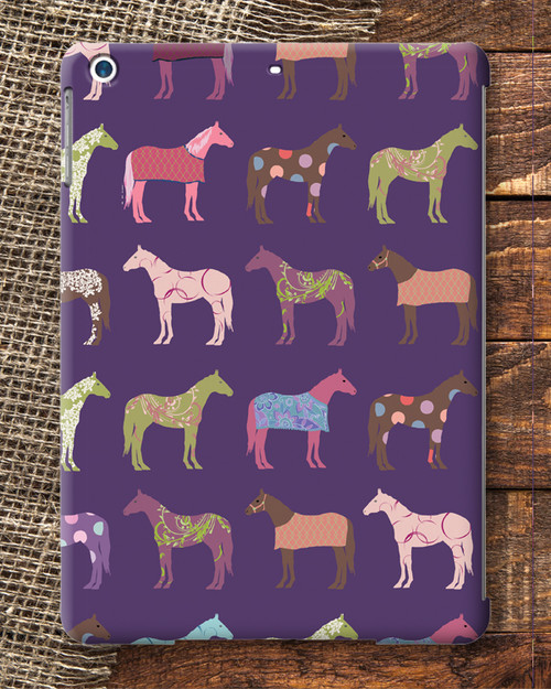 Fun Horse Pattern IPad Swivel Case