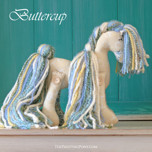 "Signature Flopsy Cotton Pony ""Buttercup"""