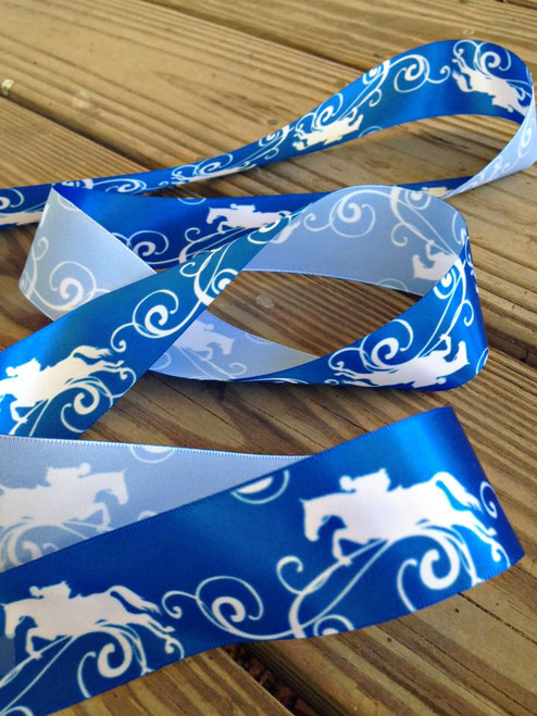 Hunter Jumper Equestrian Horse Ribbon