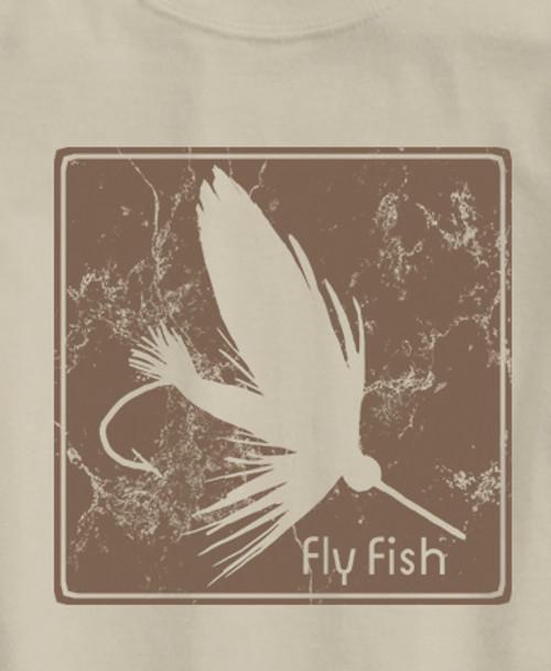 Block Print Fly Ultra Cotton T-Shirt