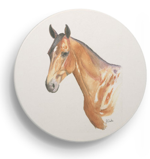 Bay Horse Head Coasters