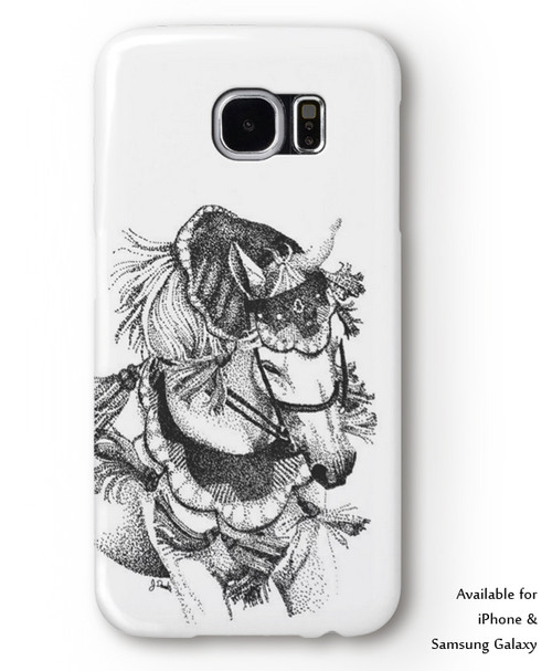 Arabian horse Equestrian iphone or samsung galaxy cell phone case