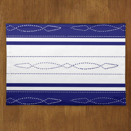 Fancy bridle pattern equestrian placemat