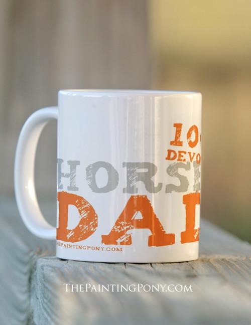 Horse Dad Ceramic Mug