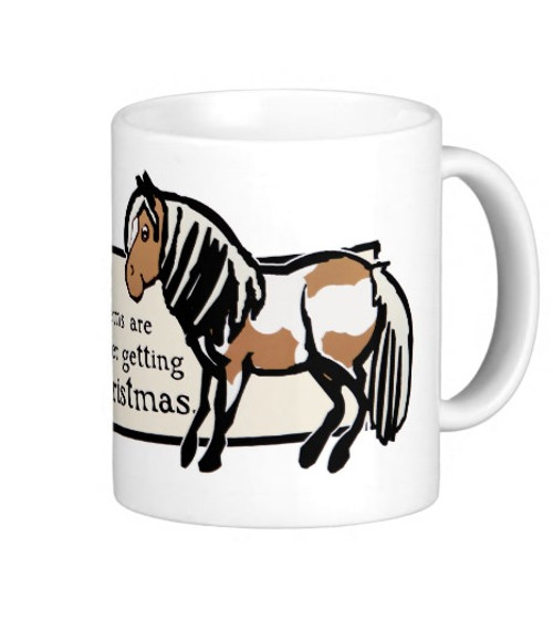 All of Lifes' Problems Equestrian Pony Mug