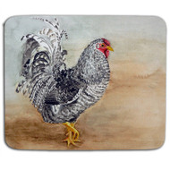 Country Farm Rooster Mouse Pad