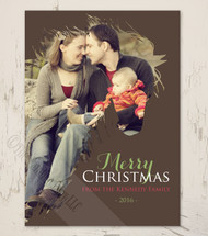 Horse Head Equestrian Photo Christmas Cards