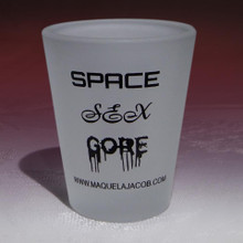 Limited Edition Shot Glass for Indie Author Maquel A. Jacob