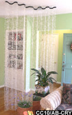 Room Divider Doorway Beaded Curtains Diamond Cut Crystal