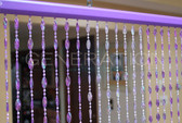 Purple Doorway Beaded Curtains
