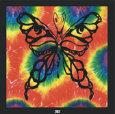Wall Hanging Butterfly Tye dye