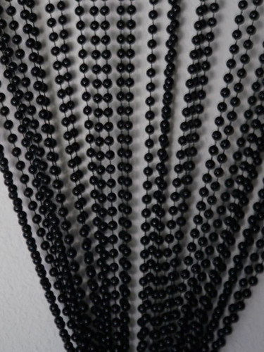 jet black chain beaded curtain generationstore
