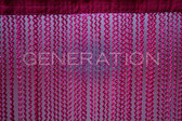 Made to Order Zig Zag Pattern String Curtains - You Choose the Color and Length!