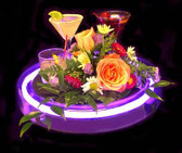 Round Neon Serving Tray