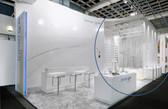 White String Curtain