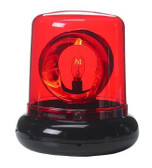 "7"" Party Police Beacon Signal Lights - Red"