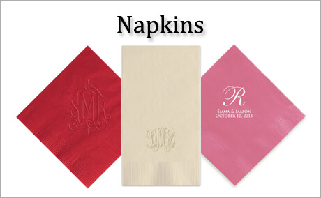 Personalized Napkins By StationeryXpress.com