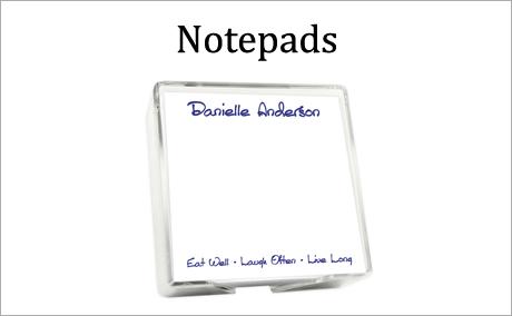 Personalized Notepads by StationeryXpress.com