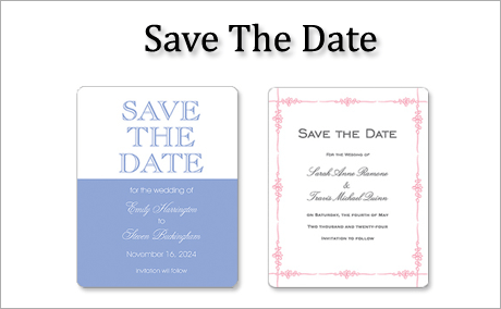 Save The Date Cards by StationeryXpress