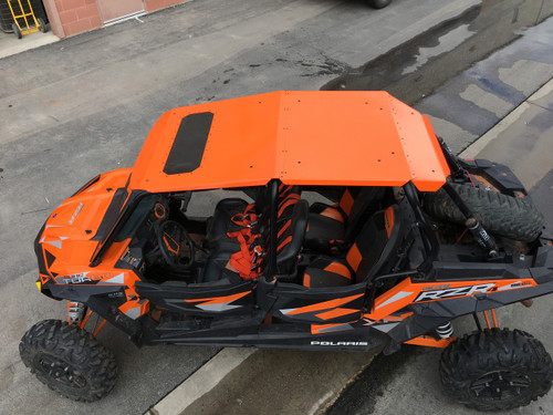 Amazing Fast Back Aluminum Roof RZR 900 4, 1000 4, XPT 4 With Sunroof Option