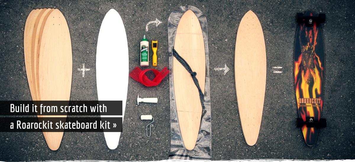 Build a skateboard