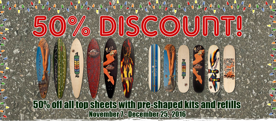 Skateboard Veneer Sale