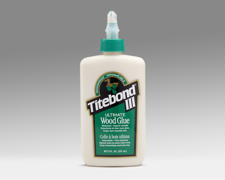 8 oz Titebond III glue for making skateboards and other projects