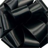 Black Wired Satin Ribbon