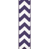 Wired Edge Regal Purple Chevron Ribbon