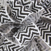 Black Grosgrain Chevron Ribbon