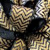 Gold Grosgrain Chevron Ribbon