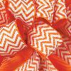 Torrid Orange Grosgrain Chevron Ribbon
