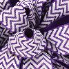 Purple Grosgrain Chevron Ribbon