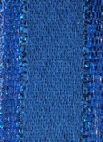 Blue Metallic Ribbon - Stacie