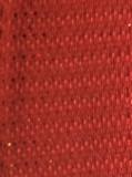 Red Wired Metallic Ribbon - Starleene