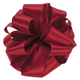 Scarlet Double Faced Satin Ribbon