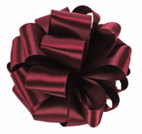 Raisin Double Faced Satin Ribbon