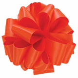 Living Coral Double Faced Satin Ribbon