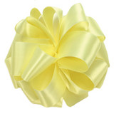 Baby Maize Double Faced Satin Ribbon