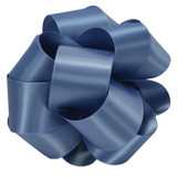 True Blue Double Faced Satin Ribbon