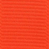 Neon Orange Solid Grosgrain Ribbon