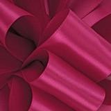 Azalea 1/8 Hot Pink Dainty Satin ribbon