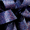 7/8 Navy / Red Glitter Grosgrain available in 25 yd rolls.