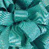 7/8 Turquoise Glitter Grosgrain available in 25 yd rolls.
